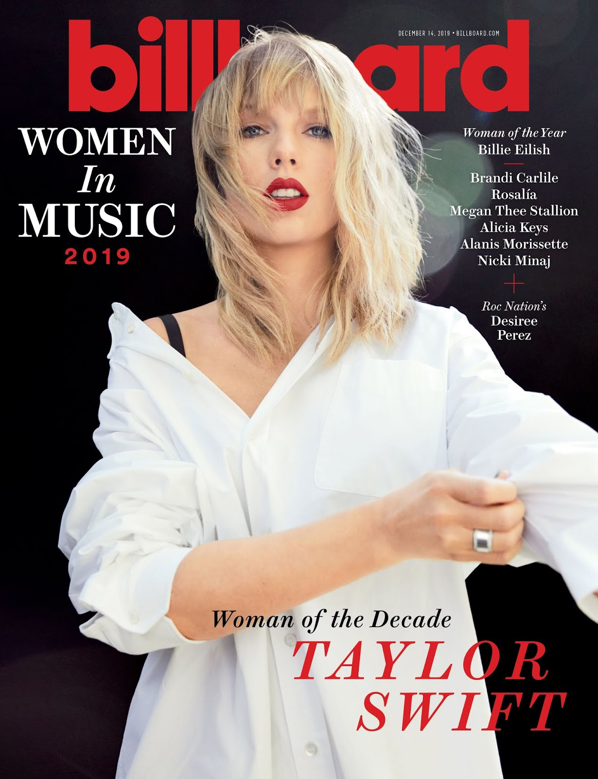 Taylor Swift is Billboard's Woman of the Decade
