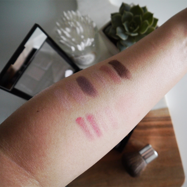 Revlon Eyes, Lips + Cheeks Palette swatches