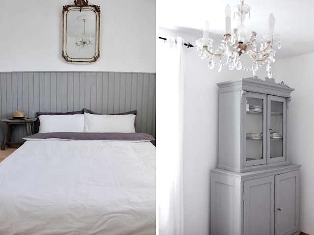 white and shabby. Black Bedroom Furniture Sets. Home Design Ideas