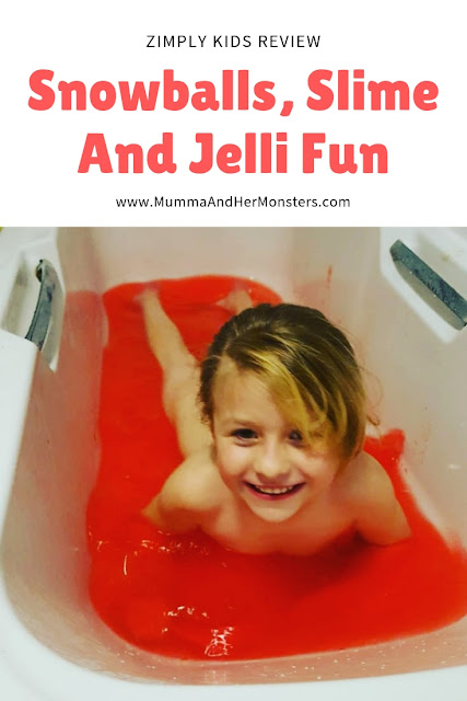 Snowballs, Slime And Jelli Fun