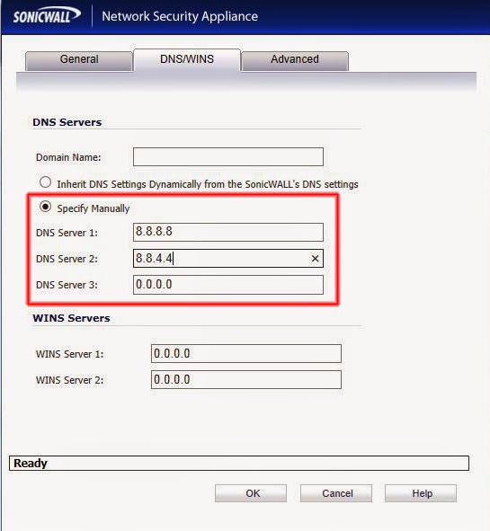 Configuración DNS.