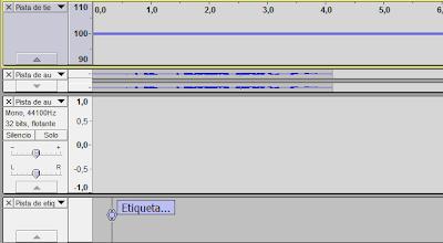 Imagen Audacity, Imagen Editor de audio, Foto Software libre, Foto aplicación multiplataforma, Imagen grabar audio, Imagen mezclar pistas, Foto efectos de audio, Foto Tipos de pista