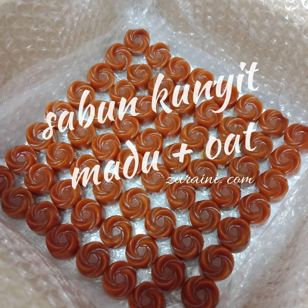 SABUN KUNYIT MADU + OAT HOMEMADE UNTUK CERAHKAN KULIT