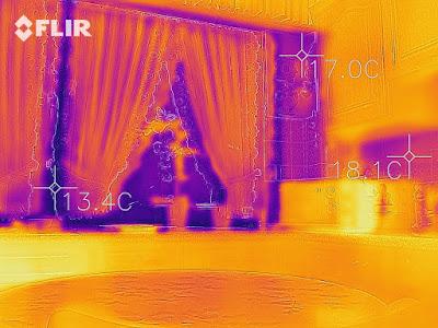 Wärmebild Alu Fenster
