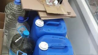ضبط 12 ألف لتر من الكحول المقلد غربي تركيا