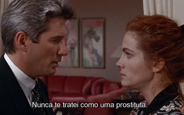 """""""Nunca te tratei como uma prostituta"""""""