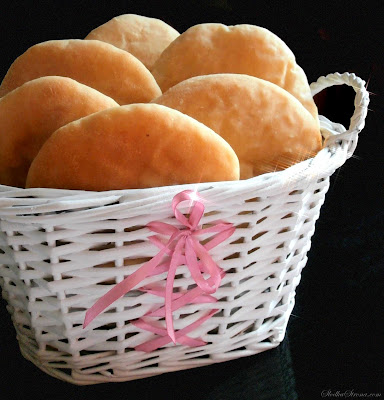 Domowe Chlebki Pita - Przepis - Słodka Strona