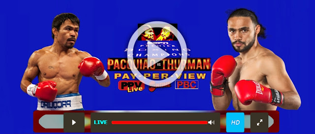 FOX PPV@ Pacquiao vs Thurman live Boxing Streams @Reddit