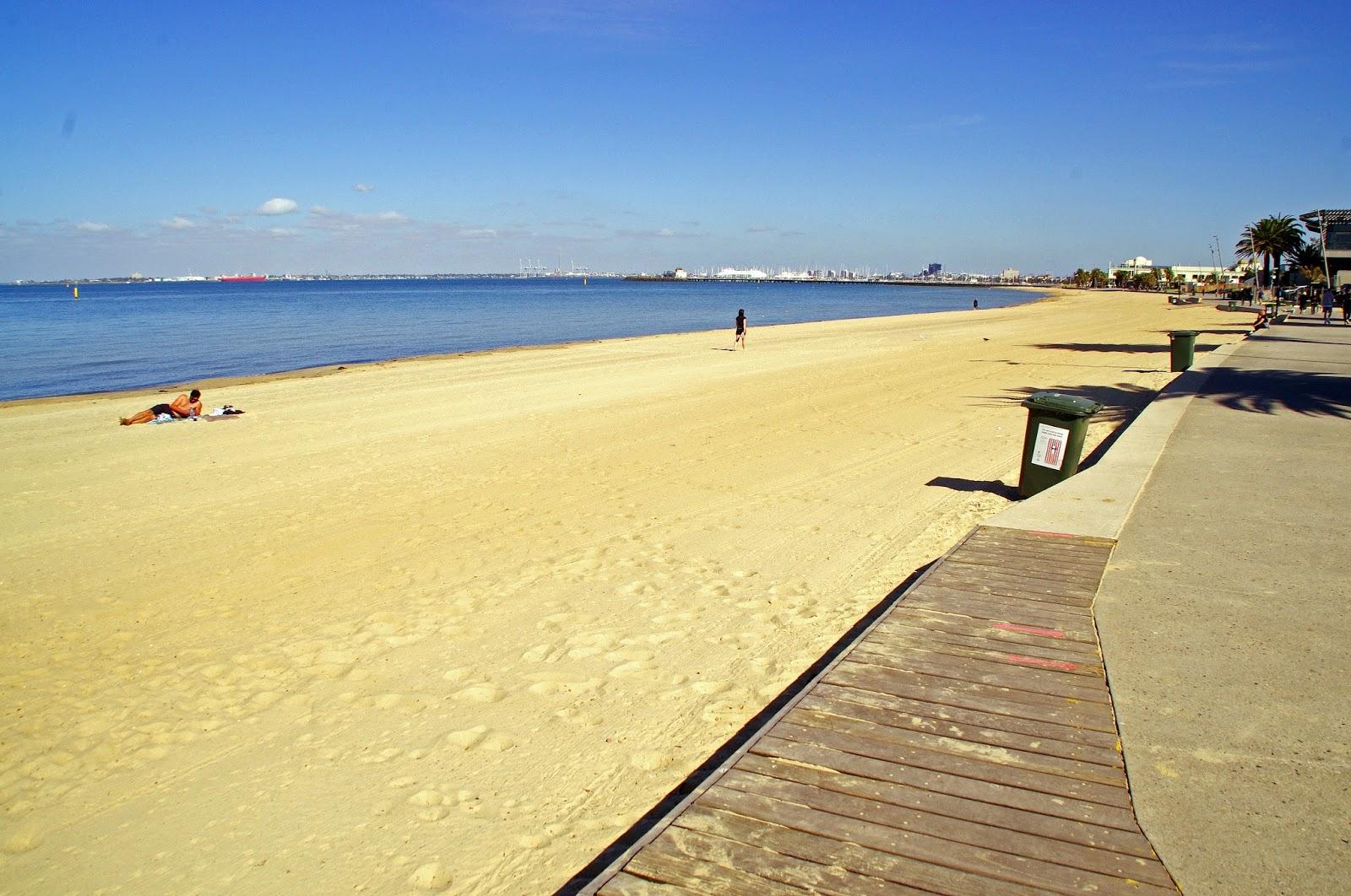 St Kilda Beach Promenade Melbourne