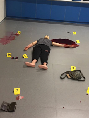 Simulated Crime Scene