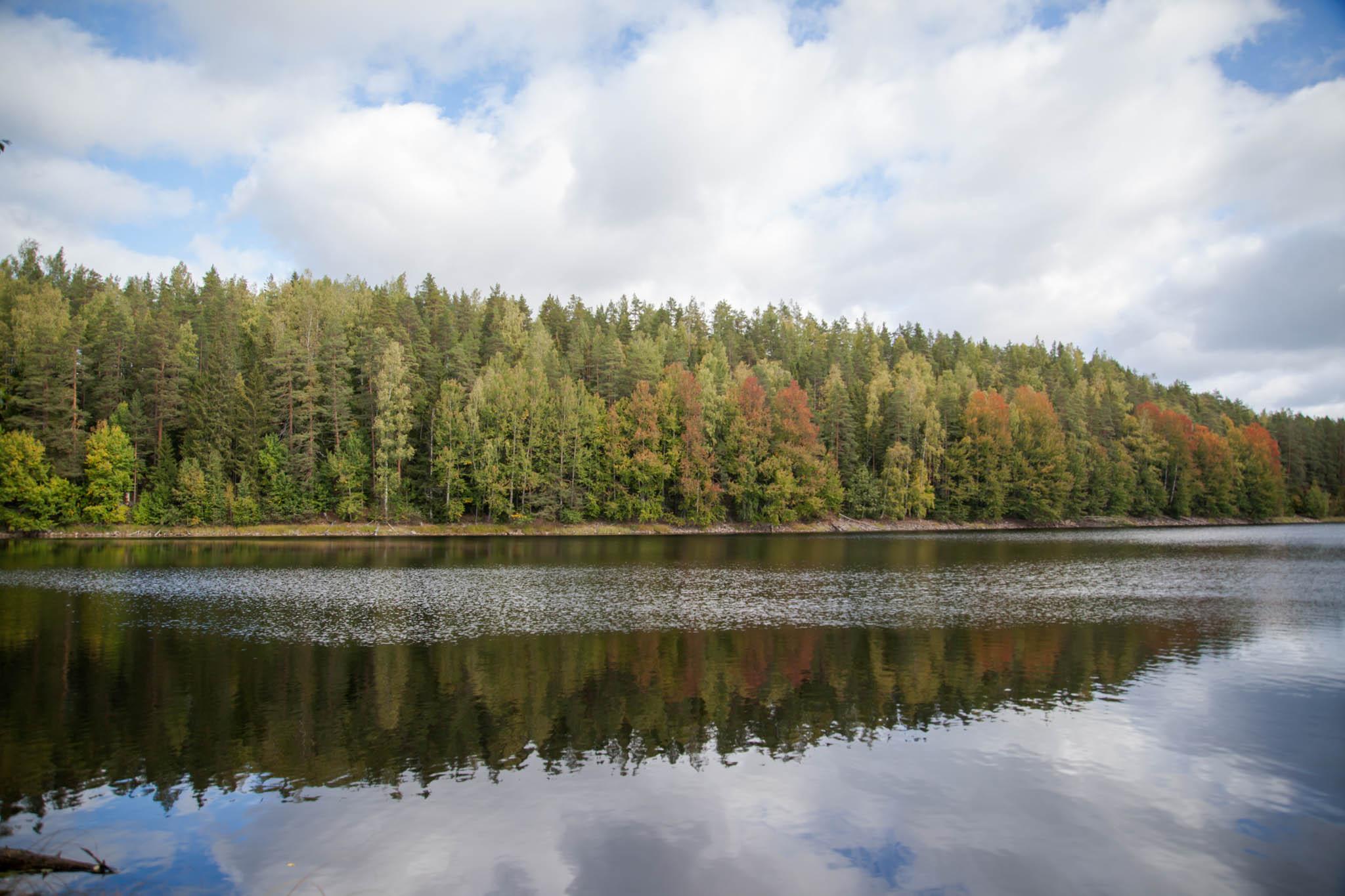 Ahvenisto Ylöjärvi luontopolku järvi