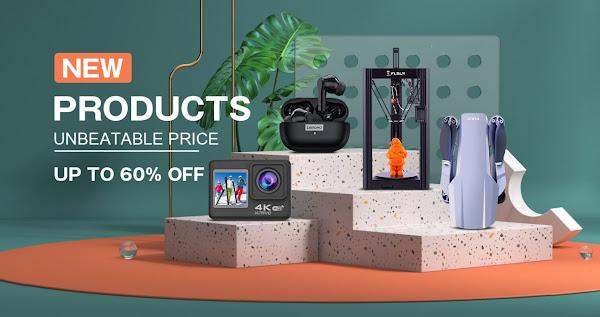 Promoção novos produtos na Tomtop