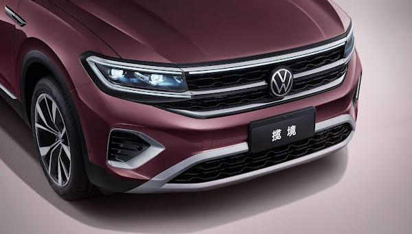 Volkswagen Talagon: SUV de grande porte - dianteira