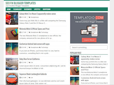 5+ Template Blogger SEO Friendly dan Responsive Abis 18