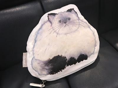 シャム猫ポーチ