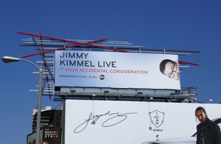 Jimmy Kimmel Live 2019 Emmy FYC billboard