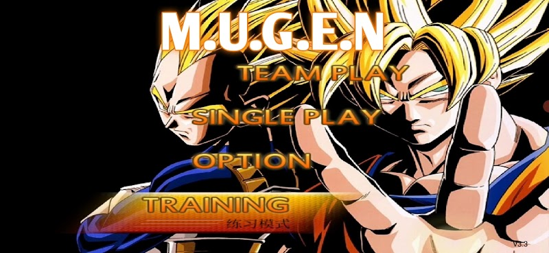 Dragon Ball Z Just Mugen Apk For Android BVN 3.3 Mod