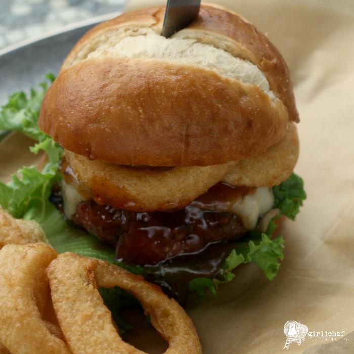 Western BBQ Bison Burgers
