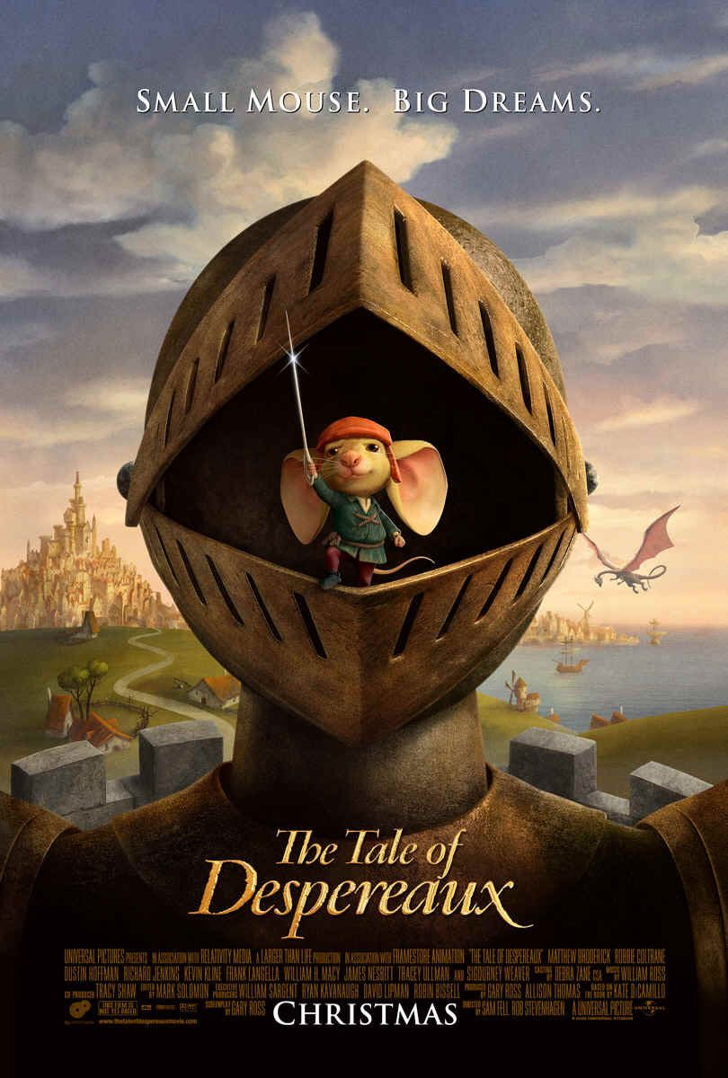 Nonton Film The Tale of Despereaux (2008)