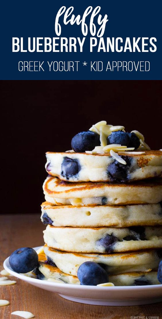 Extra Fluffy Almond Blueberry Pancakes #recipes #healthybreakfast #breakfastrecipes #healthybreakfastrecipes #food #foodporn #healthy #yummy #instafood #foodie #delicious #dinner #breakfast #dessert #lunch #vegan #cake #eatclean #homemade #diet #healthyfood #cleaneating #foodstagram