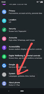 Mobile ko update karne का तरीका