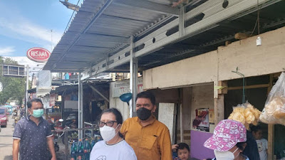 Komisi III DPRD Manado Tinjau Lokasi Pasca Bencana