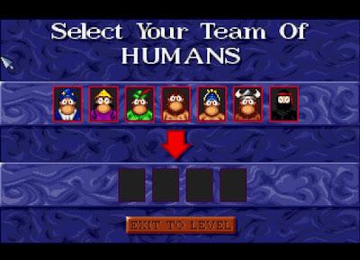 Personajes de Humans 3 Evolution