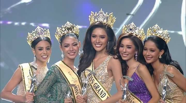 miss grand thailand 2018 winner Namoey Chanaphan