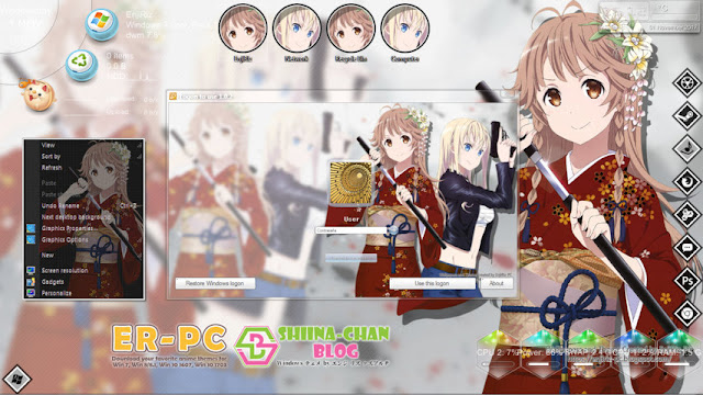 High School Fleet Theme Win 7 by Enji Riz Lazuardi