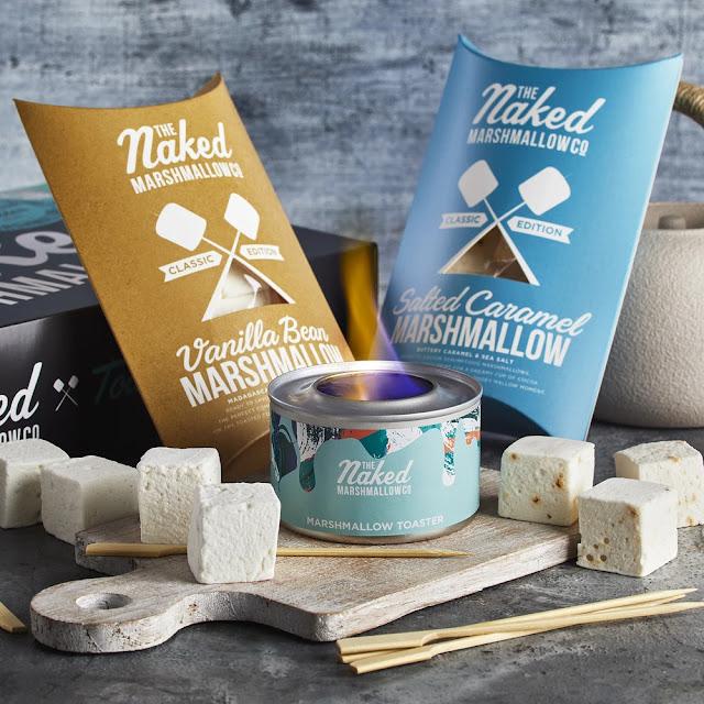 The Naked Marshmallow Co toasting kit