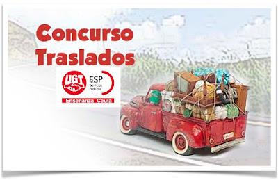 Resolución Concurso General Traslados docente, Enseñanza UGT Ceuta, Enseñanza UGT Ceuta Informa, Blog de Enseñanza UGT Ceuta