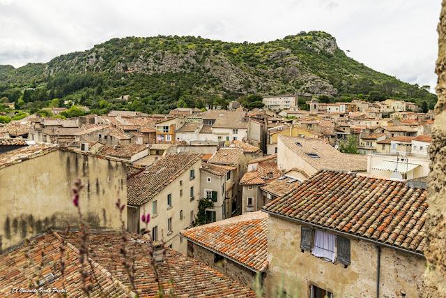 Anduze, desde la torre del reloj - Francia, por El Guisante Verde Project