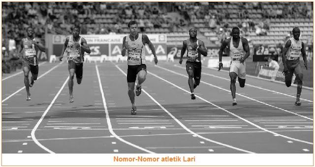 Nomor-Nomor atletik Lari -Nomor-Nomor Lari, Lompat, dan Lempar dalam Cabang Atletik
