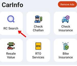 click rc search