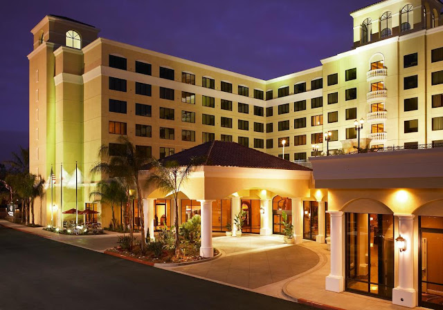 DoubleTree Suites by Hilton Hotel Anaheim Resort - Convention Center provides easy access to all the city has to offer, ideally located one block from the Anaheim Convention Center and one mile from Disneyland® Park and Disney California Adventure® Park.