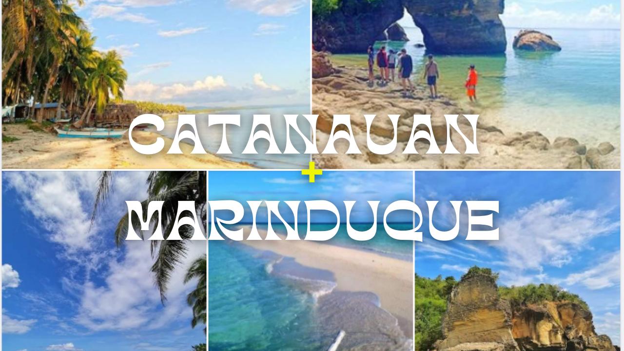 Catanauan Quezon - Marinduque Day Tour   Catanuan Beach + Maniwaya Island + Palad Sand Bar + Mompong (Ungab) Rock Formation + Girasoles Farm Side Trip