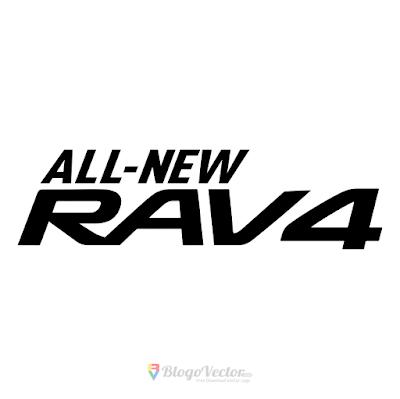 Toyota Rav4 Logo Vector