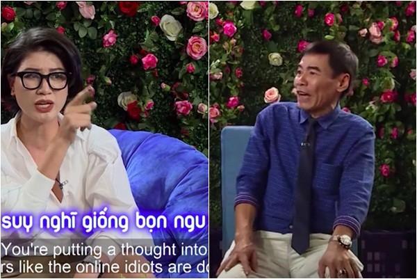 Bị chê 'chân dài não ngắn', Trang Trần chửi thẳng mặt vợ Xuân Bắc