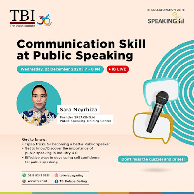 Communication Skill at Public Speaking