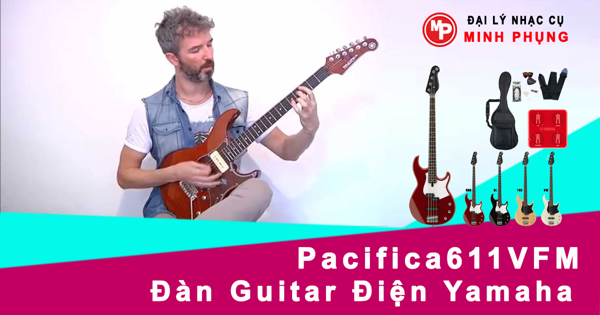Đàn Guitar Điện Yamaha Pacifica611VFM