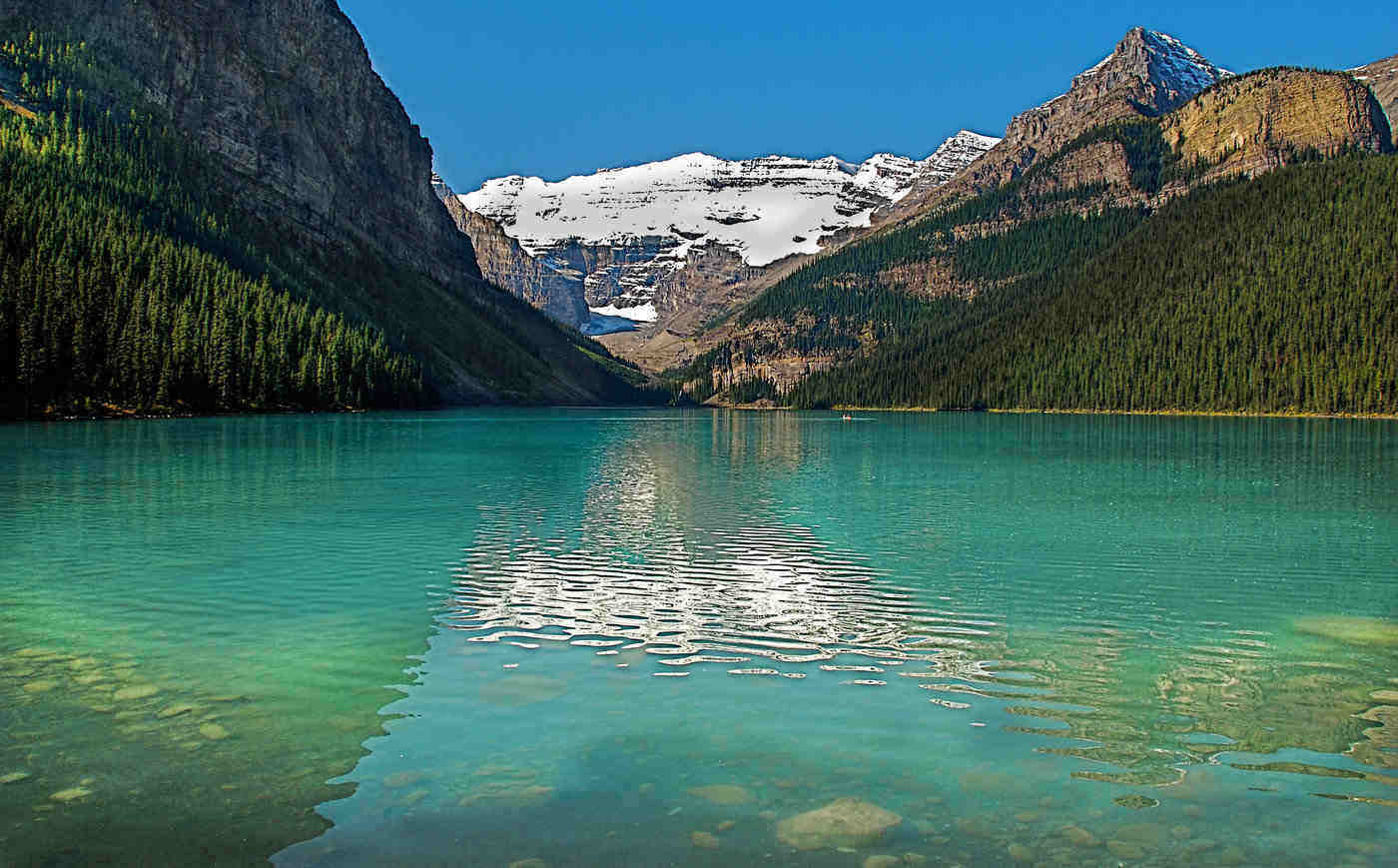 lake louise - spectacular lakes to visit in canada in 2019