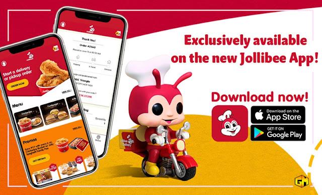 Jollibee mobile app gizmo manila