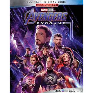 Avengers: Endgame Blu-ray box art