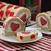 Swissroll Cinta Hati / Valentine Swissroll