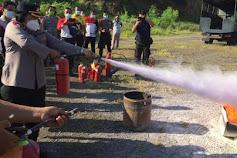 Polda Bali Gelar Pelatihan APAR Untuk Personel