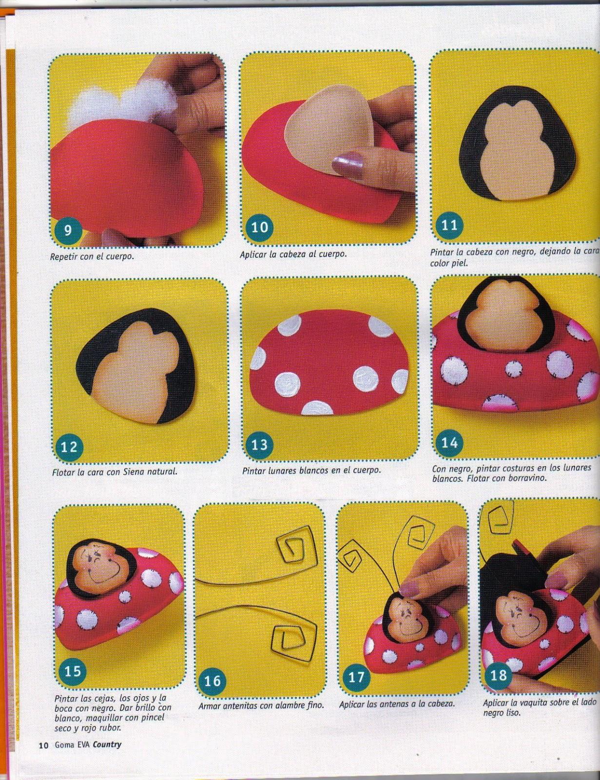 Manualidades para la cocina en goma eva revistas de for Manualidades para la cocina