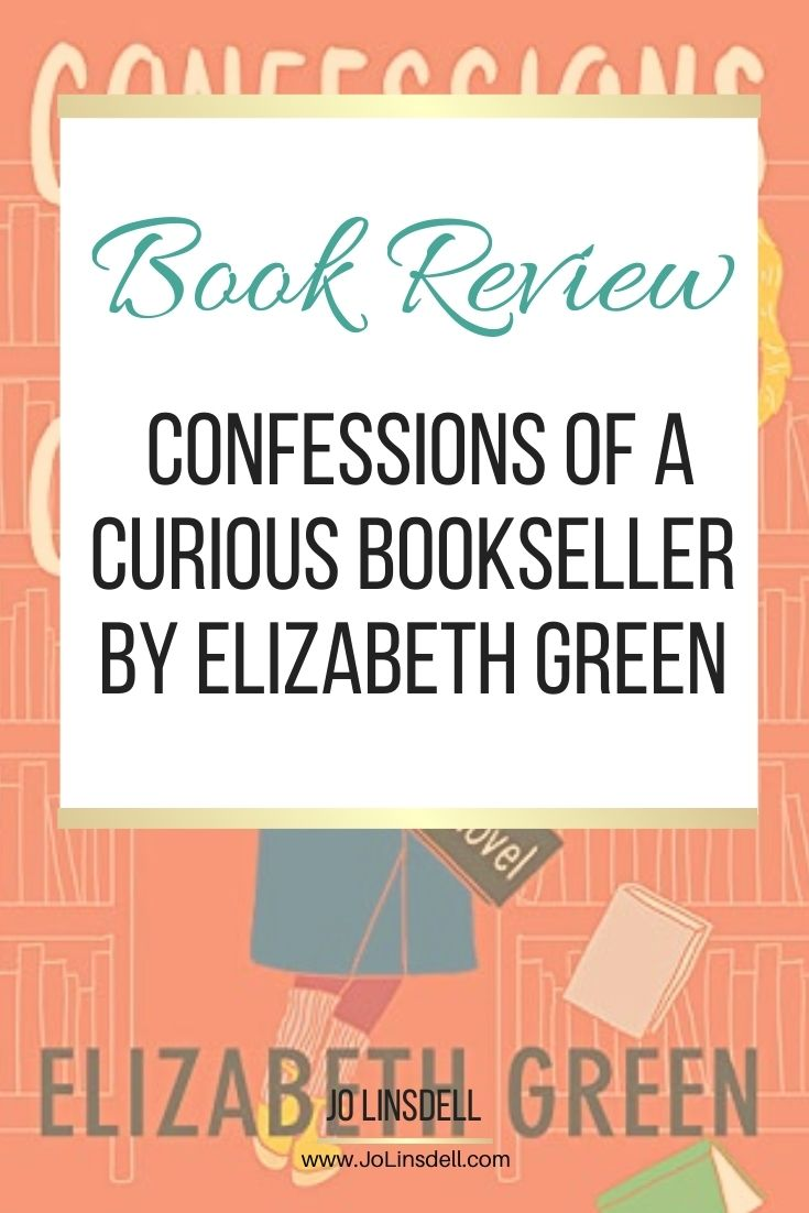 Book Review Confessions of a Curious Bookseller by Elizabeth Green