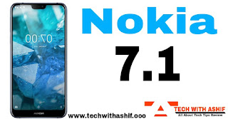 Nokia 7.1,Upcoming Smartphone in India November 2018