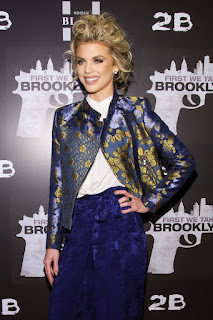 Annalynne Mccord At First We Take Brooklyn Premiere In New York