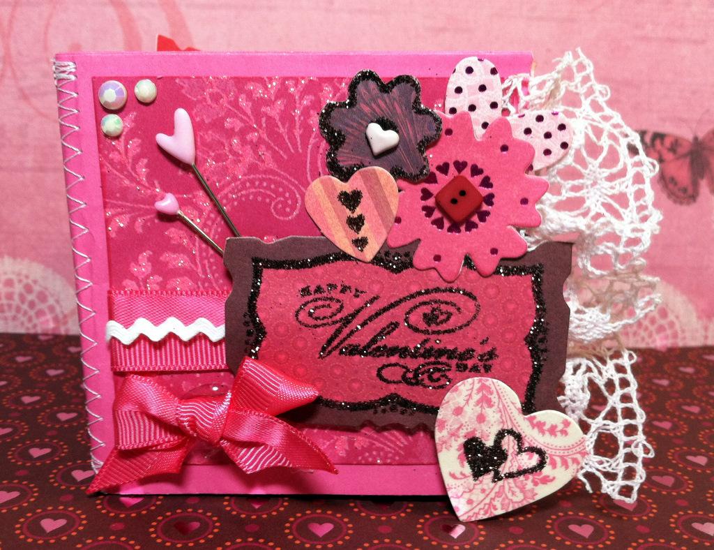 Create Serendipity: A Very Valentine Mini Album - photo#46
